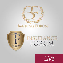 19. Banking Forum & 15. Insurance Forum & Cloud Day  Live